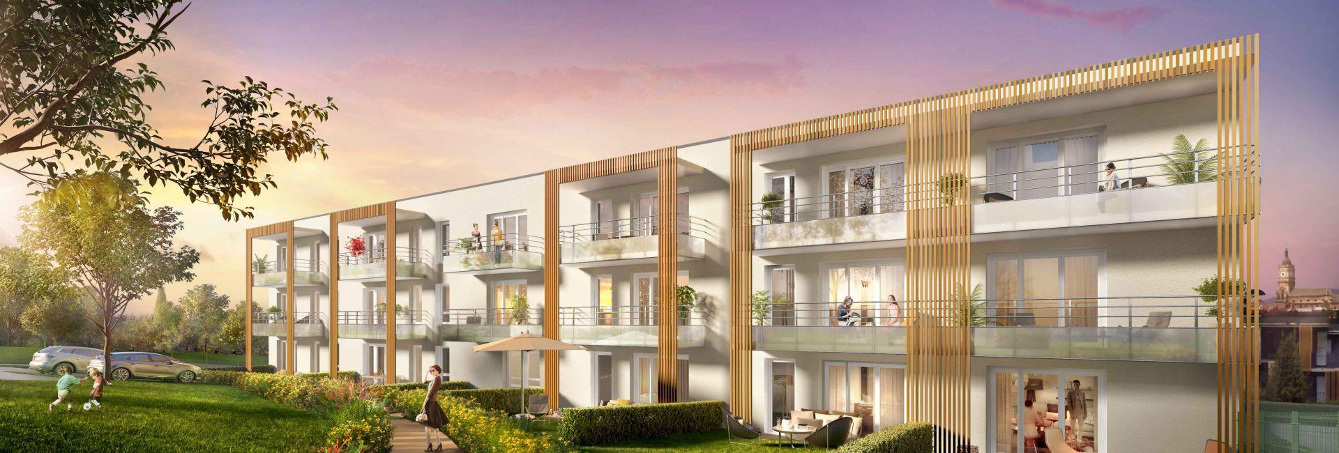 Programme immobilier les jardins de montgre - Image 2