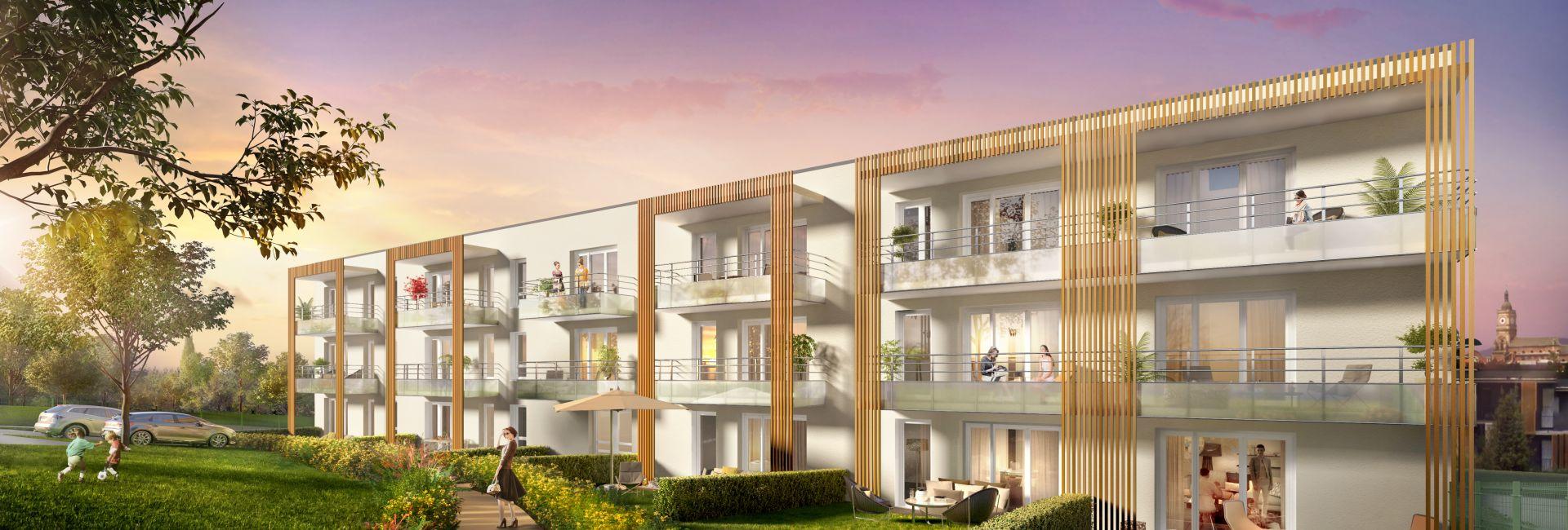 Programme immobilier les terrasses de montgré - Image 1